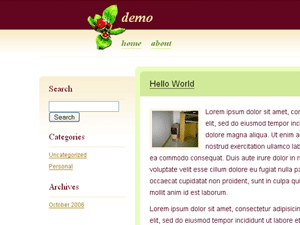 Apple WordPress Theme