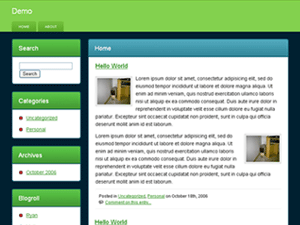 Web 2 Wannabe WordPress Theme