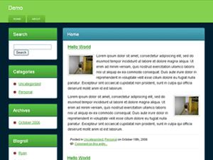 Web 2 Wannabe WordPress Theme