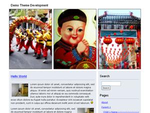 CNY WordPress Theme