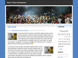 022 WordPress Theme