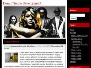 Fergie WordPress Theme