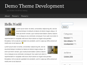 Basic Concept WordPress Theme