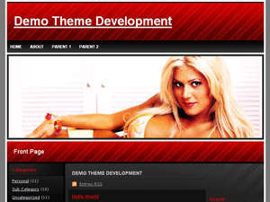 Wrastle WordPress Theme