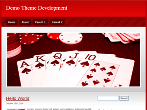 Poker WordPress Theme
