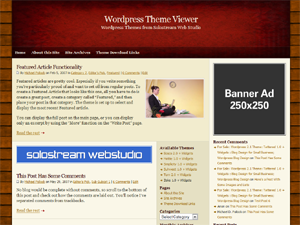 13 Double Right Sidebars WordPress Themes