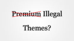 Premium, but illegal themes?