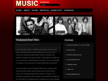 Finalized Music Theme Design