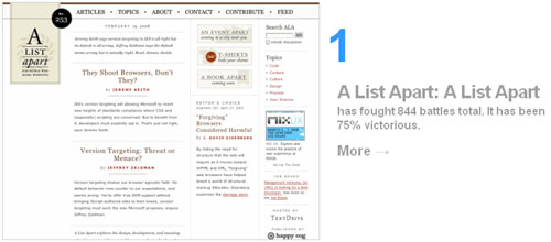 Simplicity Takes First Place in blogging