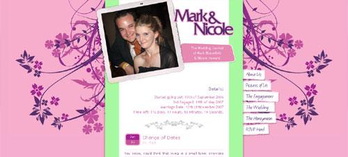 Mark and Nicole