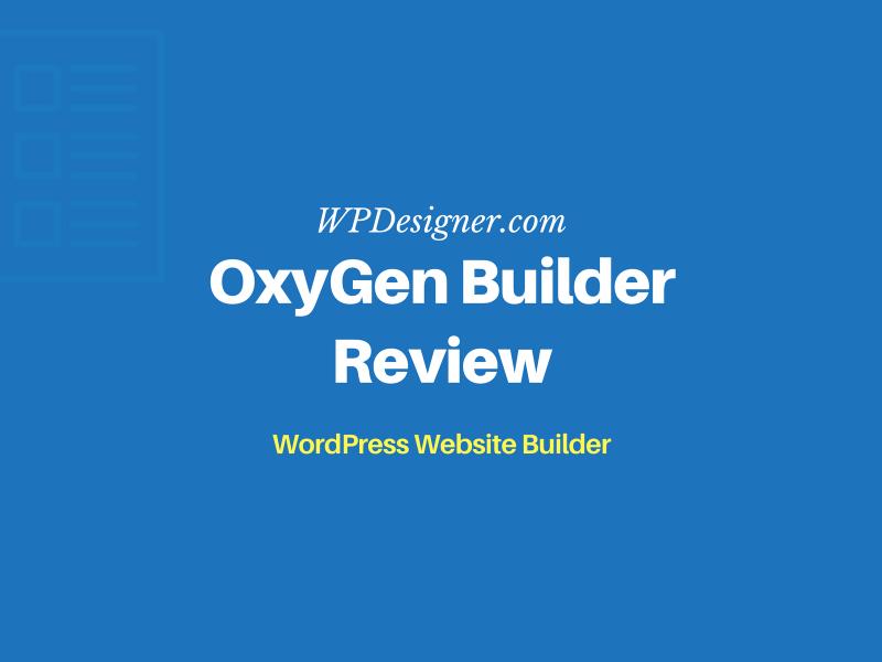 oxygen builder review