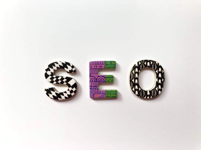 SEO written using blocks